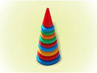 Детская развивающая игрушка Пирамидка №2  018 Бамсик