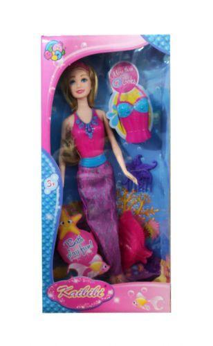 """Кукла-русалка 2 в 1 """"Kaibibi"""" (с фиолетовым хвостом) 1553032_BLD07"""