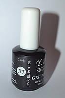 Гель-лак YRE №37, дизайн ногтей гель