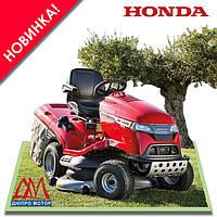 Садовый трактор Honda (Хонда) HF2625 HTEH ездовая газонокосилка райдер, фото 1