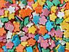 Посыпки кондитерские — Маргаритки разноцветные