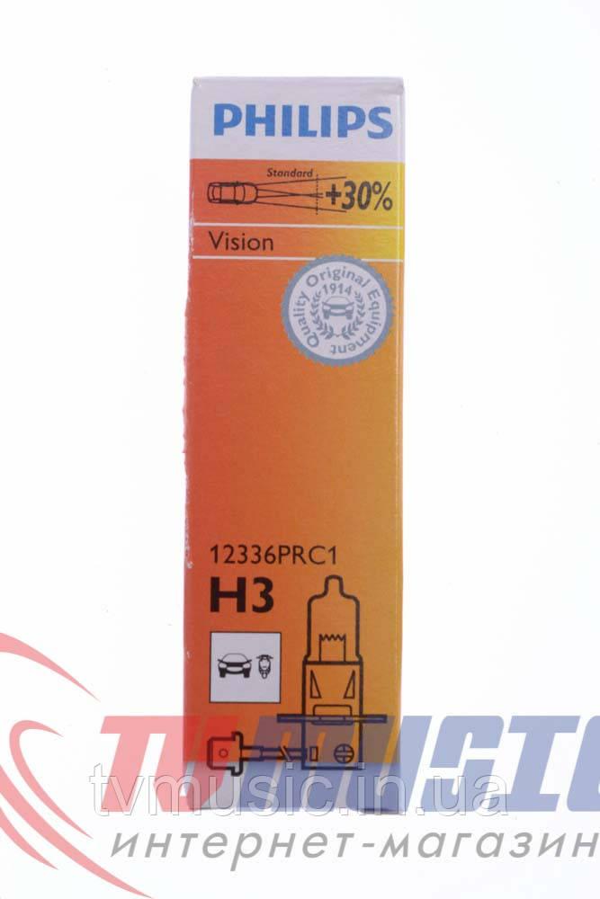 Галогенная лампа Philips Vision H3 12V 55W (12336PRC1)