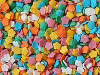 Посыпки кондитерские — Маргаритки разноцветные мини