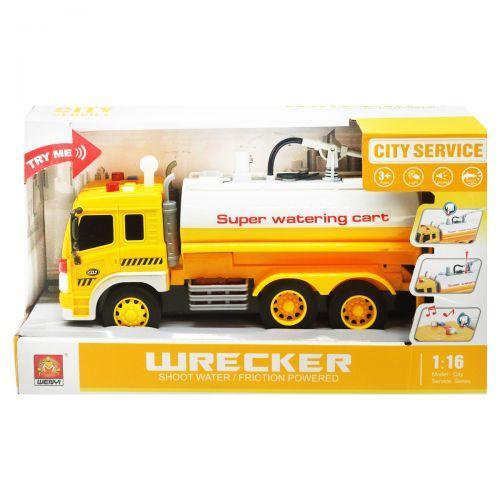 Машина с водяной помпой (желтый) WY331A/WY331B