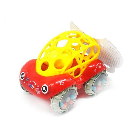 """Игрушка-погремушка """"Машинка"""" (красная) Б 339"""