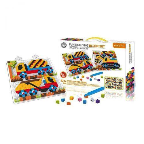 """Мозаика """"Транспорт"""" 6в1, 420+ деталей 6608-2"""