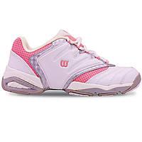 Кроссовки теннисные WILSON Challenge II WRS963600-41_5 размер 41 UK-7,5 EUR-41,5 белый-розовый