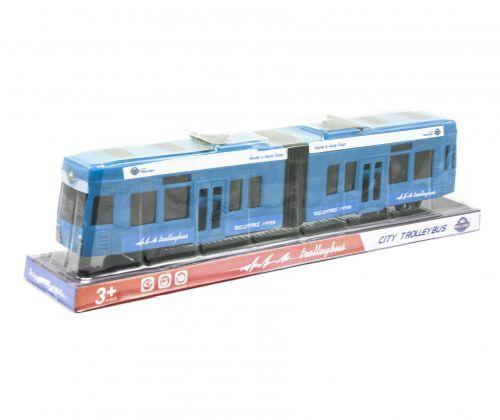 Трамвай инерционный (синий) KX905-14