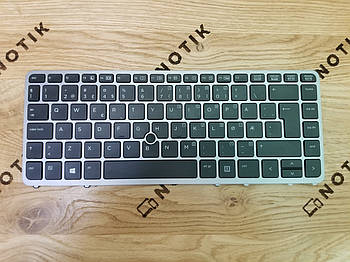 Клавиатура для ноутбука HP 840 g1 840 g2 ZBook 14 (762758-091)