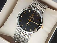 Мужские (Женские) кварцевые наручные часы Rolex на металлическом ремешке