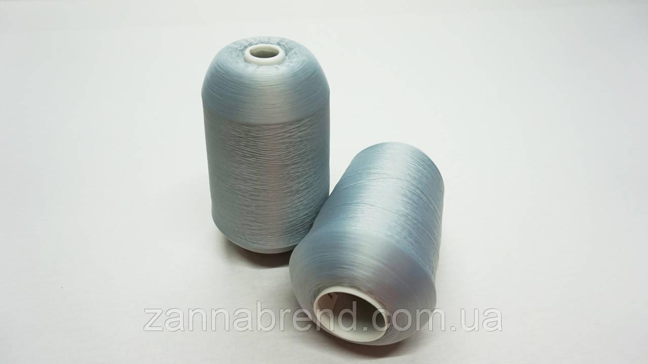 Котушка нитки для оверлока світло-сірого кольору 150D/1