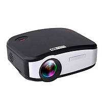 Портативный Full HD мультимедийный LED проектор C6TV матрица 800*480, 2USB/SD/HDMI/JPG/MP3/Wi-FI