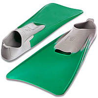 Ласты с закрытой пяткой MadWave M074605812W (резина, размер 46-48, зеленый)