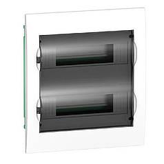 Щит встраиваемый 24 модулей прозрачная дверь Easy9 EZ9E212S2F (Schneider Electric)