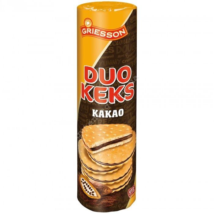 Печиво з шоколадом Duo Keks