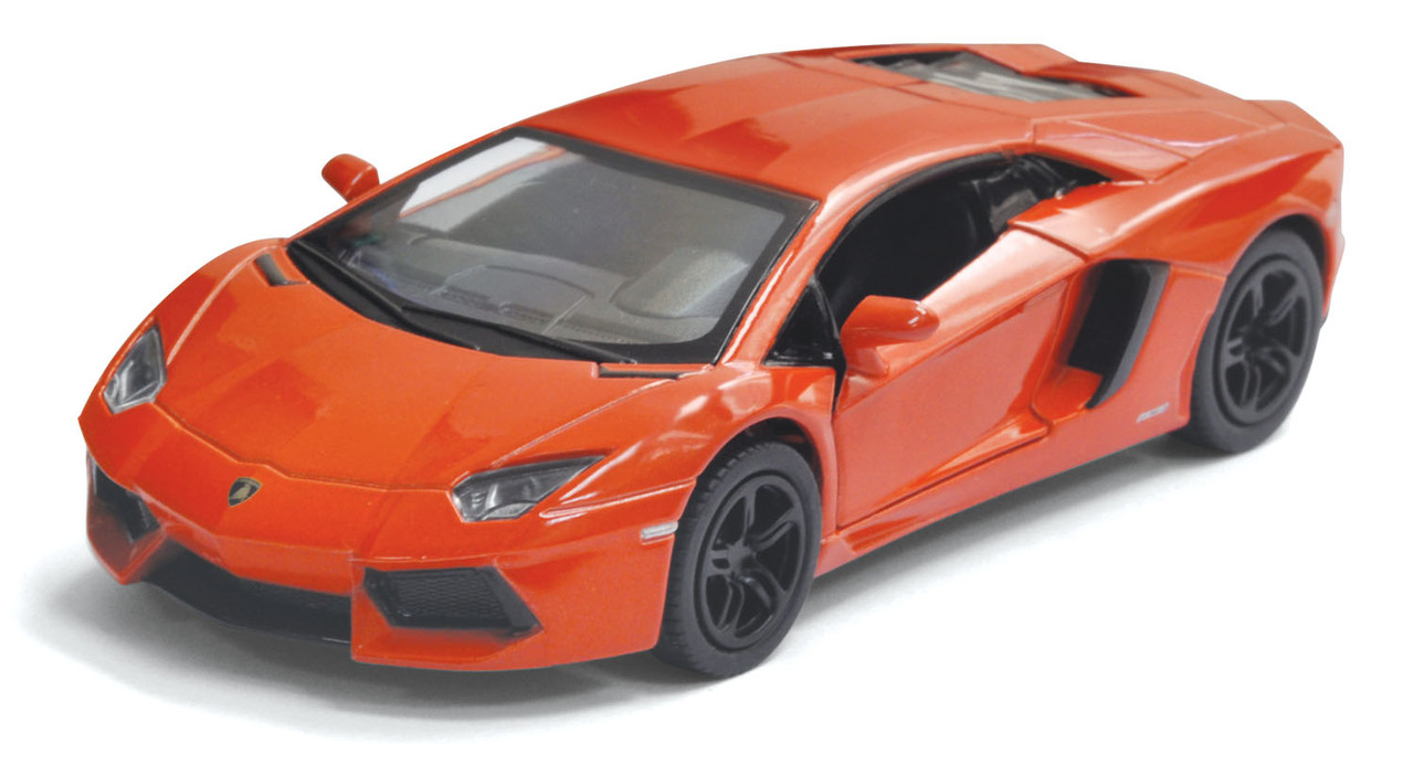 Машина. Автомодель металлическая 1:38 Lamborghini Aventador LP700-4 KT5355W Kinsmart