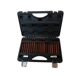 """Набор бит с Битодержатели """"Premium"""" 40пр.10мм (75 / 30мм: T20-T55, H4-H12, M5-M12) в кейсе, F-4401D FORSAGE"""