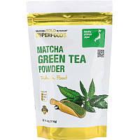 California Gold Nutrition, Superfoods, порошок зеленого чаю матча, (114 г)