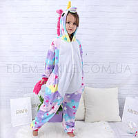 Пижама Кигуруми для девочки Единорог Звездочка, Рост 100