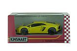 Машина. Автомодель металлическая 1:38 Lamborghini Aventador LP700-4 KT5355W Kinsmart  , фото 2