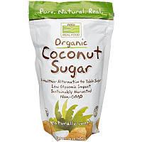 Now Foods, Real Food, органічний кокосовий цукор, 454 г