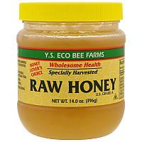 Y. S. Eco Bee Farms, Сирої мед, 396 р (14,0 унцій)