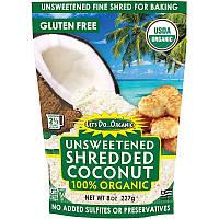 Edward & Sons, let's Do Organic, 100 % органічний подрібнений кокос без підсолоджувача, 227 г (8 унцій)