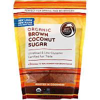 Big Tree Farms, Органічний коричневий кокосовий цукор, 1 фунт (454 г)