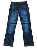 Джинсы мужские OMATjeans 7027-137 клеш темно-синие, фото 6