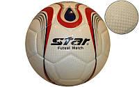 Мяч для футзала №4 Клееный-PU STAR JMU1635-1 (цвета в ассортименте)