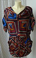 Платье женское модное легкое летнее мини бренд George р.46 3554