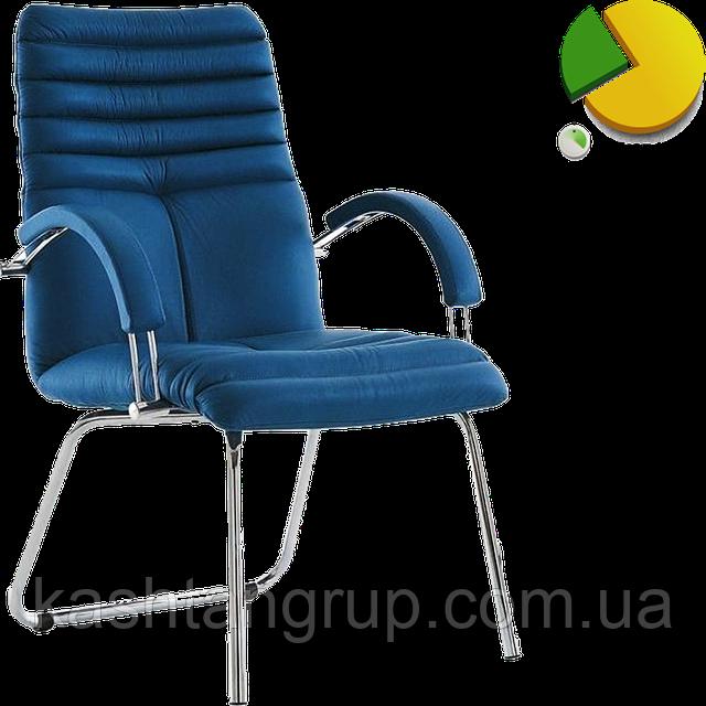 Кресло GALAXY steel CFA LB chrome Шкіра SPLIT