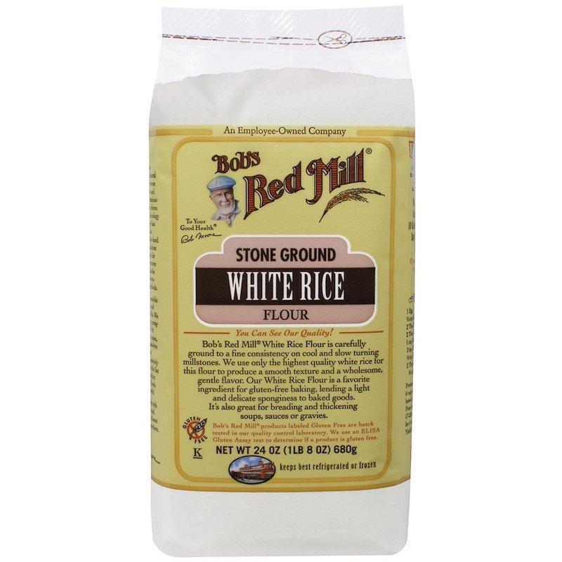 Bob's Red Mill, мука из органического белого риса, 680 г (24 унции)
