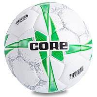 Мяч для футзала №4 PU CORE PREMIUM QUALITY CRF-039 (5 сл., сшит вручную)