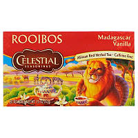 Celestial Seasonings, Чай ройбуш, мадагаскарская ваниль, без кофеина, 20 чайных пакетиков, 1.5 унц. (42 г)