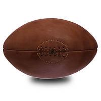 Мяч для регби кожаный VINTAGE F-0264 Rugby ball (кожа, 4 панели)