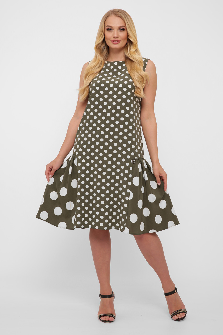 Платье женское Настасья оливка