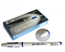 Ручка гелевая LEADER 0,5мм, синяя, LR-801 ш.к.6941629600315