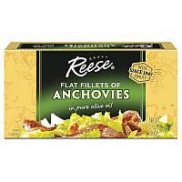 Reese, Спинки анчоусов в чистом оливковом масле, 2 унции (56 г)