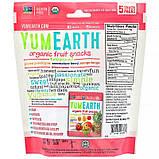 YumEarth, Органические фруктовые снеки, тропические фрукты, 5 упаковок, 17,6 г в каждой, фото 2