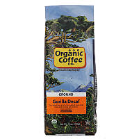 Organic Coffee Co., Gorilla Decaf, молотый кофе без кофеина, 340 г