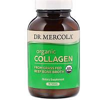 Dr. Mercola, Органический коллаген, 90 таблеток