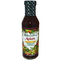 Walden Farms, Азиатская заправка для салата и маринад, без калорий, 12 жидких унций (355 мл)