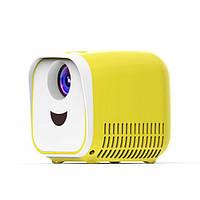 Детский проектор Vivibright L1 | Детский мини проектор кубик  1000 люменов