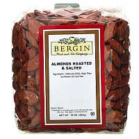Bergin Fruit and Nut Company, Обжаренный соленый миндаль, 16 унций (454 г)