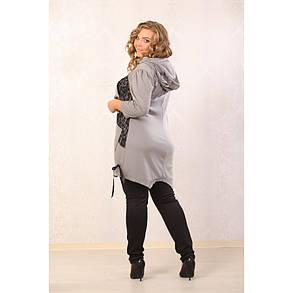 Женская туника Тайра рукав 3/4 размер 48-70, фото 2