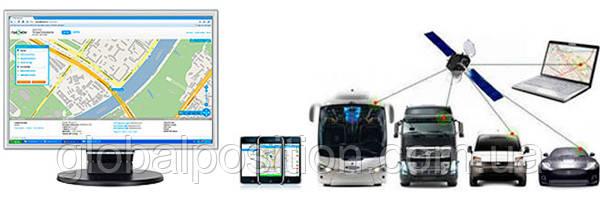 Система GPS мониторинга транспорта