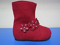Распродажа!Демисезонные сапоги/ботинки для девочкиТМ Bloom 21-24р