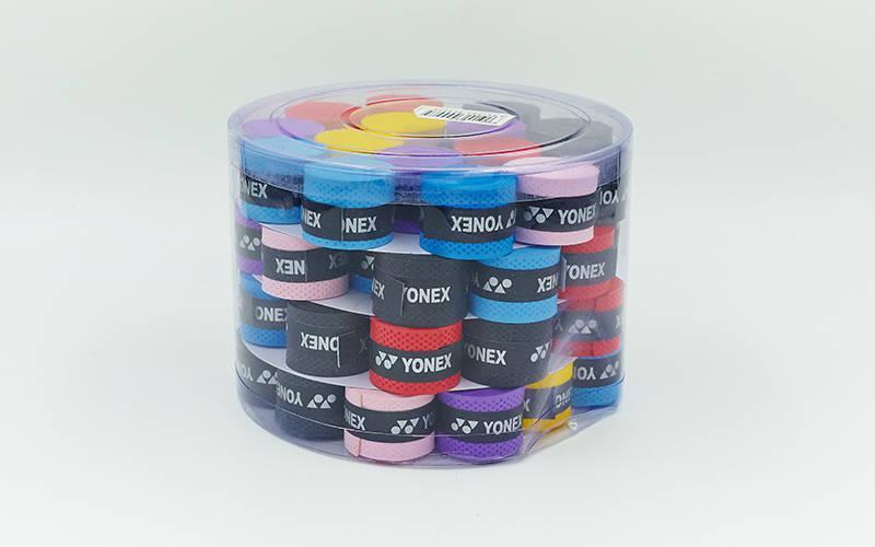 Обмотка на ручку ракетки теннис,сквош,бадминтон Grip YONEX BD-5535 (уп 60шт, цена за 1шт, разноцветный)
