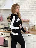 Турецкий черный спортивный костюм Valentino, фото 8